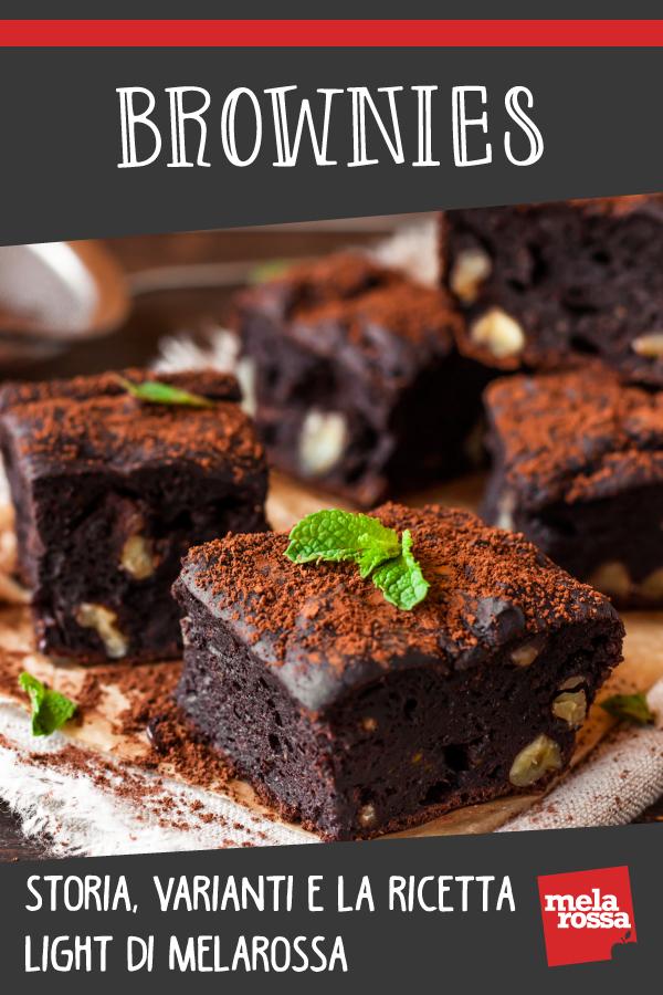 Brownies storia varianti ricetta senza burro