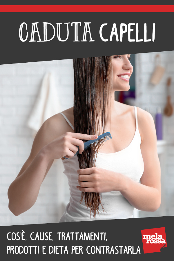 caduta capelli: cos'è, cause, cura e dieta