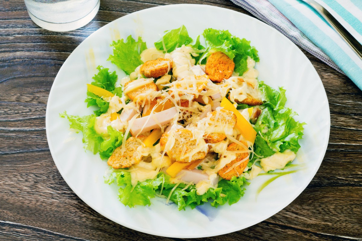 Caesar salad pollo