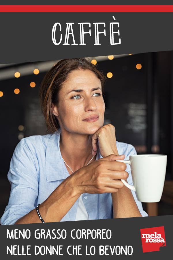 caffè legame consumo e grasso corporeo donne