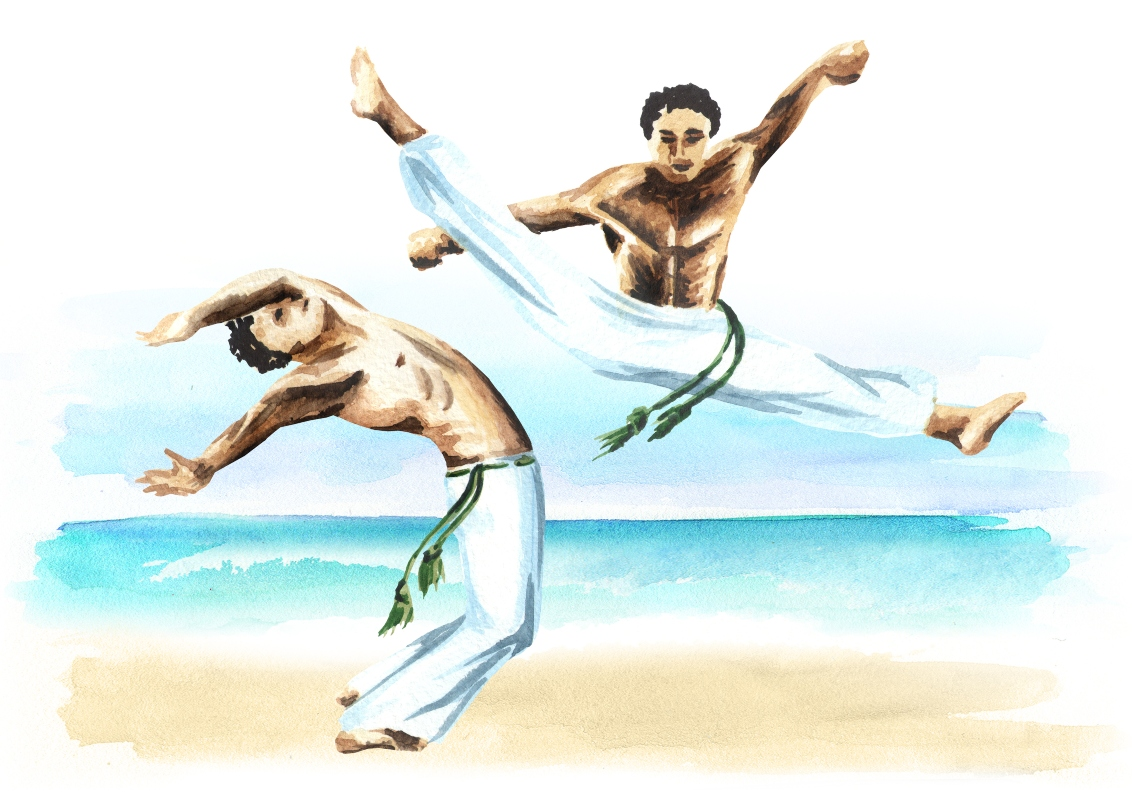 tecnica nella capoeira