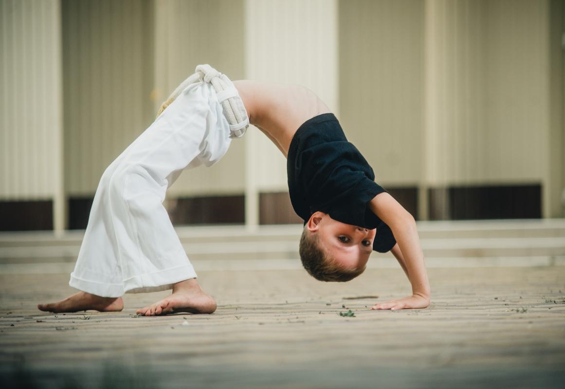 capoeira: bambini