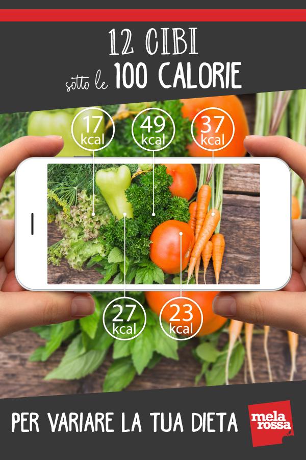 cibi sotto le 100 calorie: 12 per variare la tua dieta