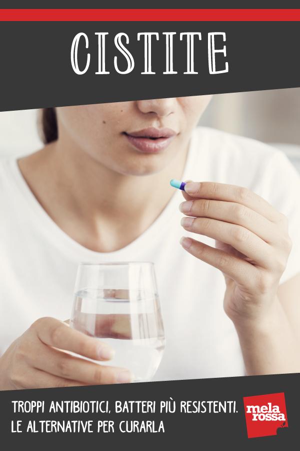 cistite antibiotico-resistenza cure integratori