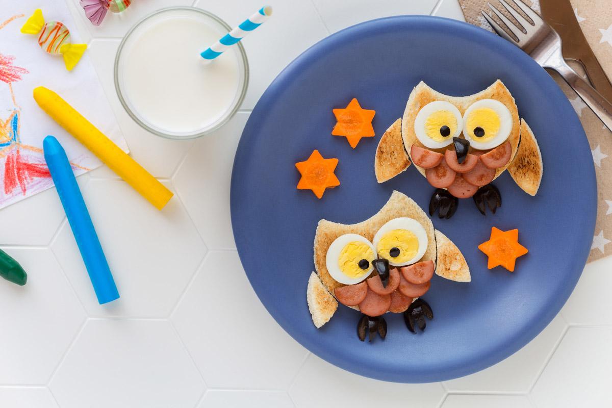 educazione alimentare bambini fantasia cucina
