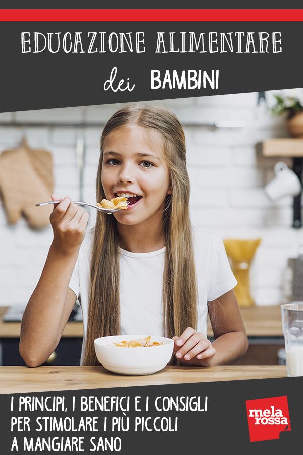 educazione alimentare bambini guida