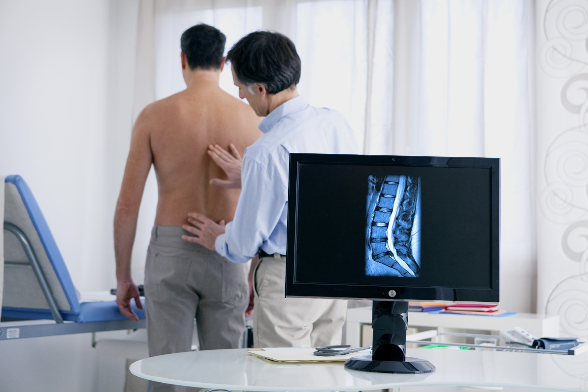 ernia del disco: diagnosi