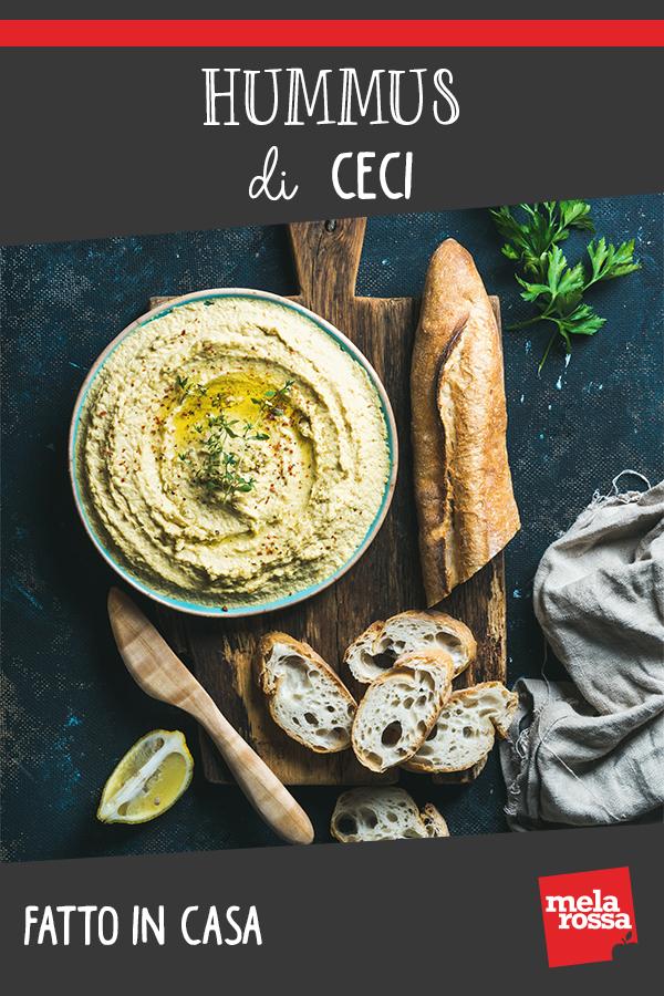 Hummus di ceci fatto in casa: una ricetta sana