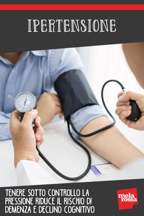 ipertensione controllo pressione riduce rischio demenza