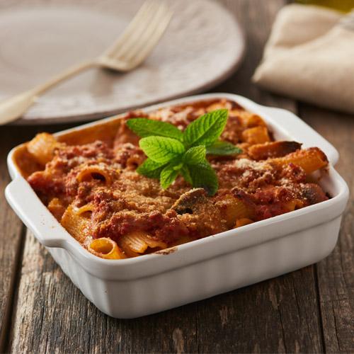 maccheroni al forno salsa olive ricetta