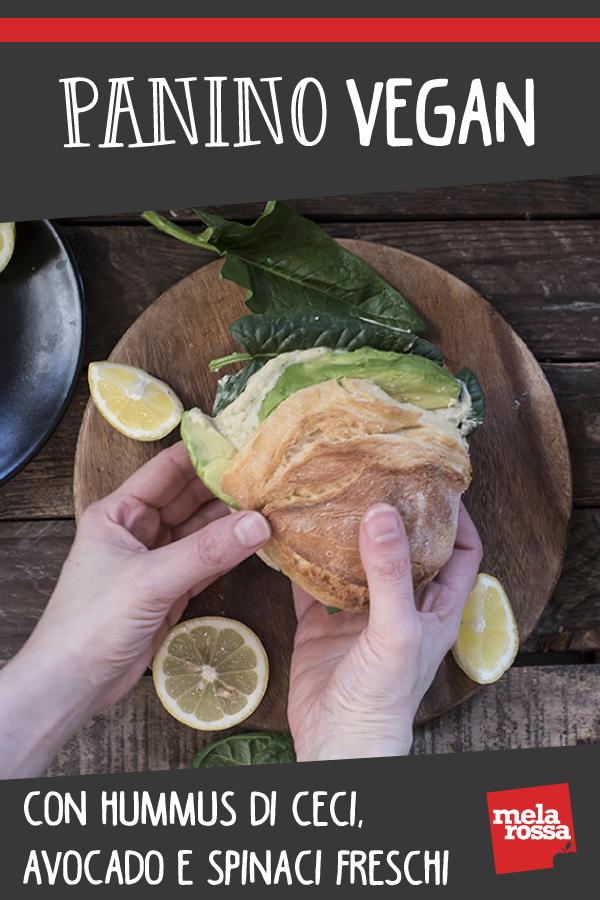 panino vegan: ricetta salutare