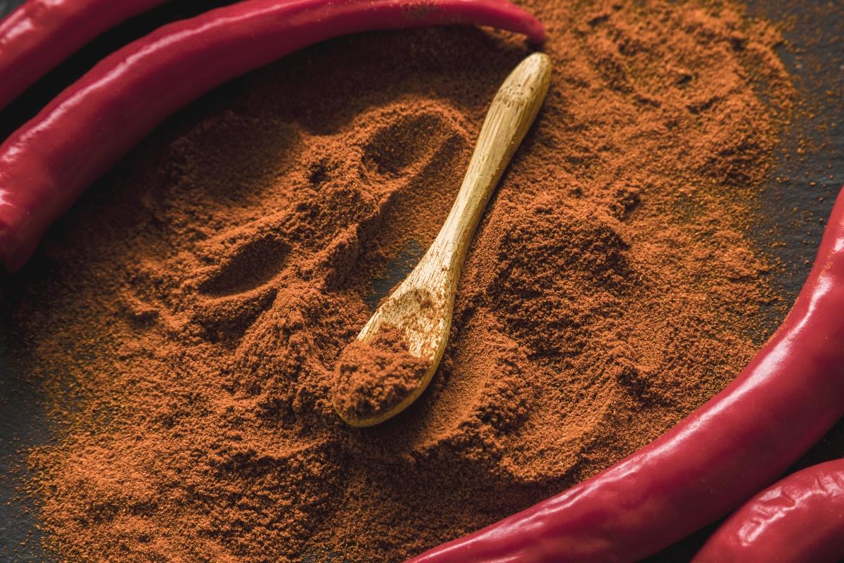 peperoncino: capsaicina