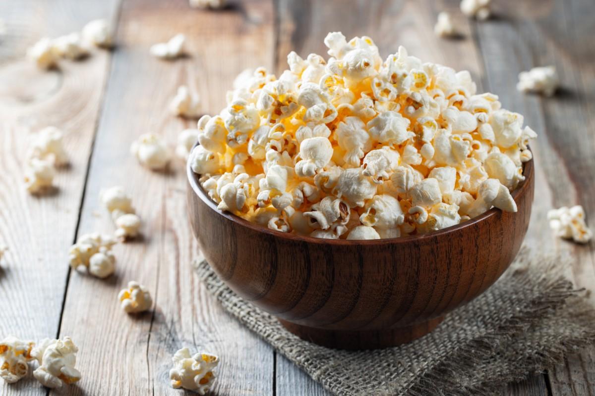 pop corn cibi meno 100 calorie