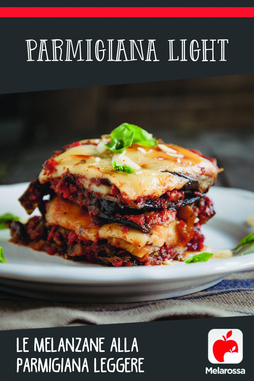 ricetta parmigiana light