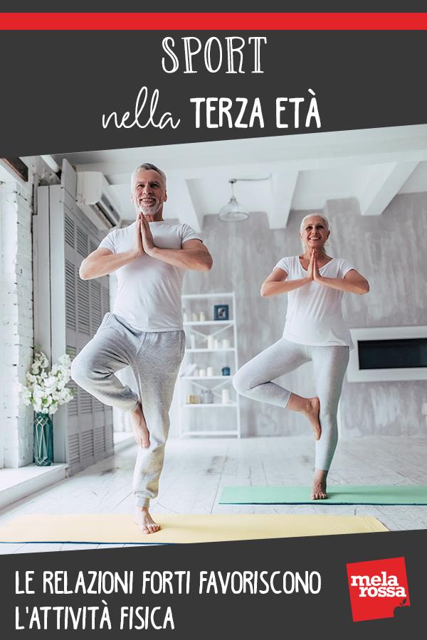 anziani relazioni favoriscono attività fisica