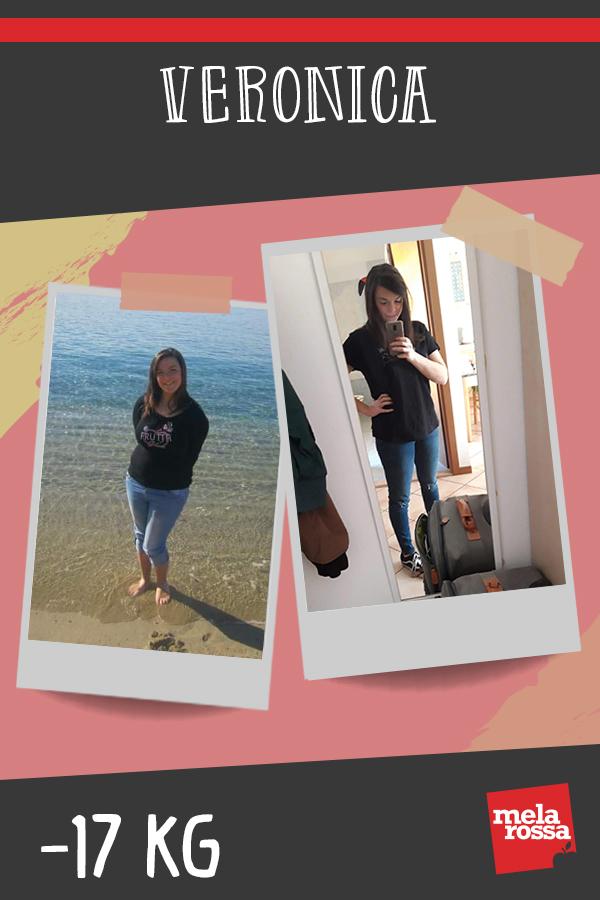 testimonial melarossa Veronica 17 kg