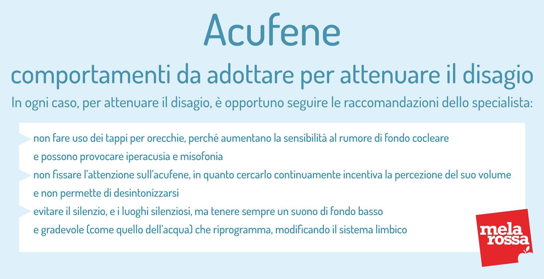 Acufene: comportamenti da adottare