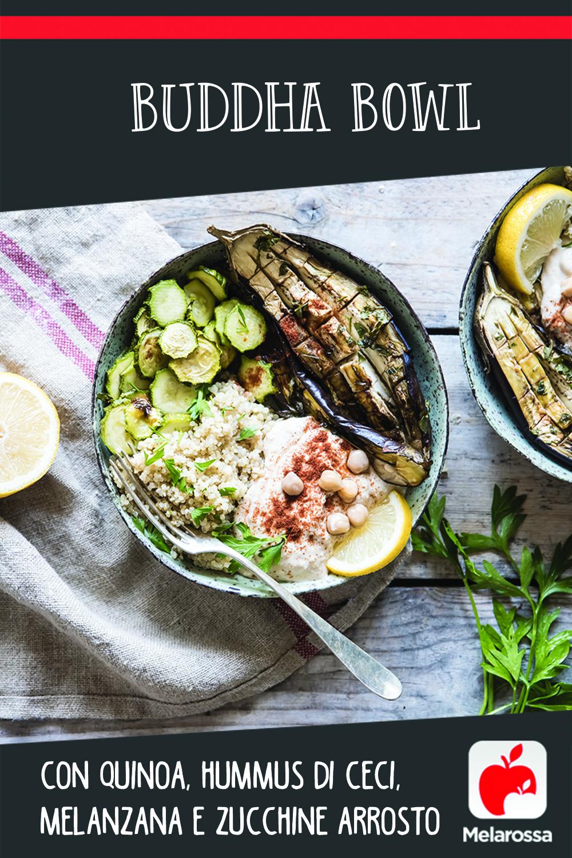 Buddha bowl con quinoa