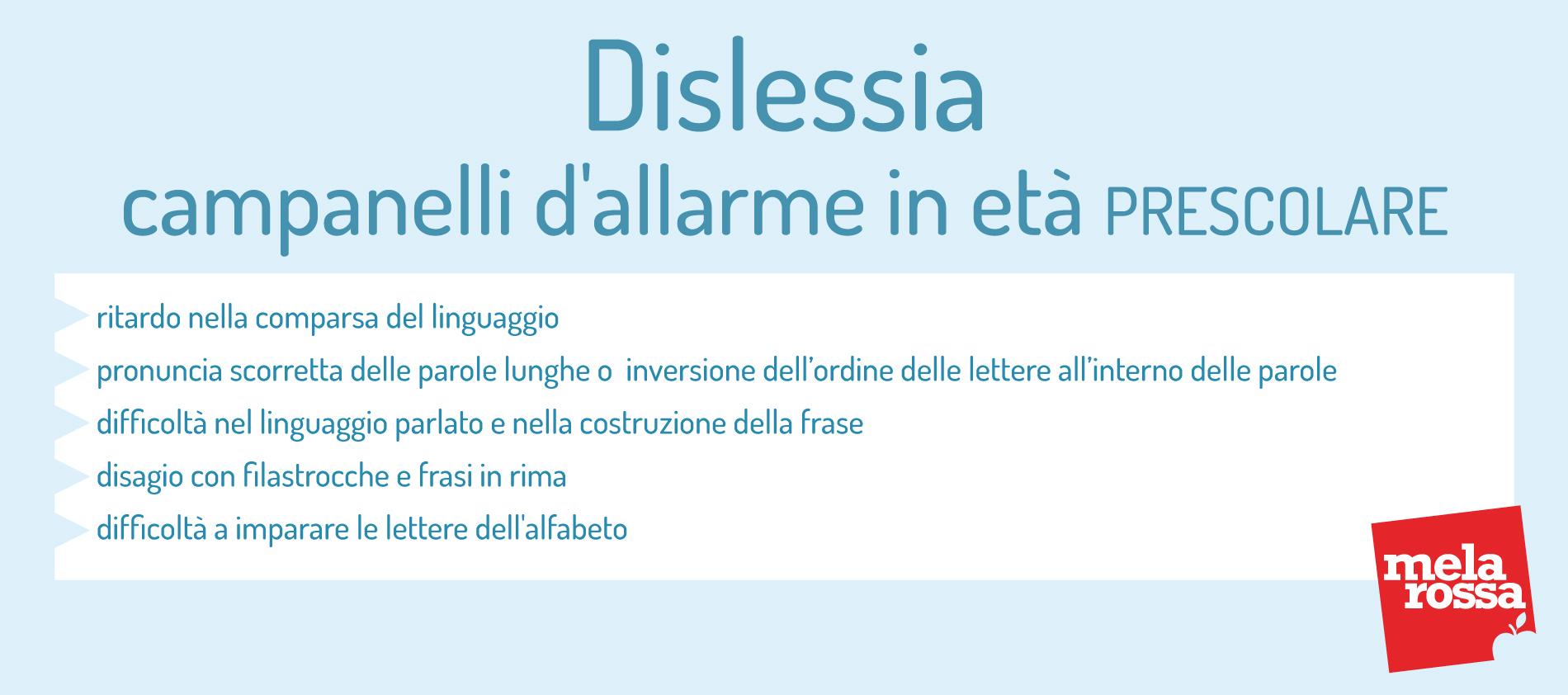 dislessia: campanelli d'allarme in età scolare