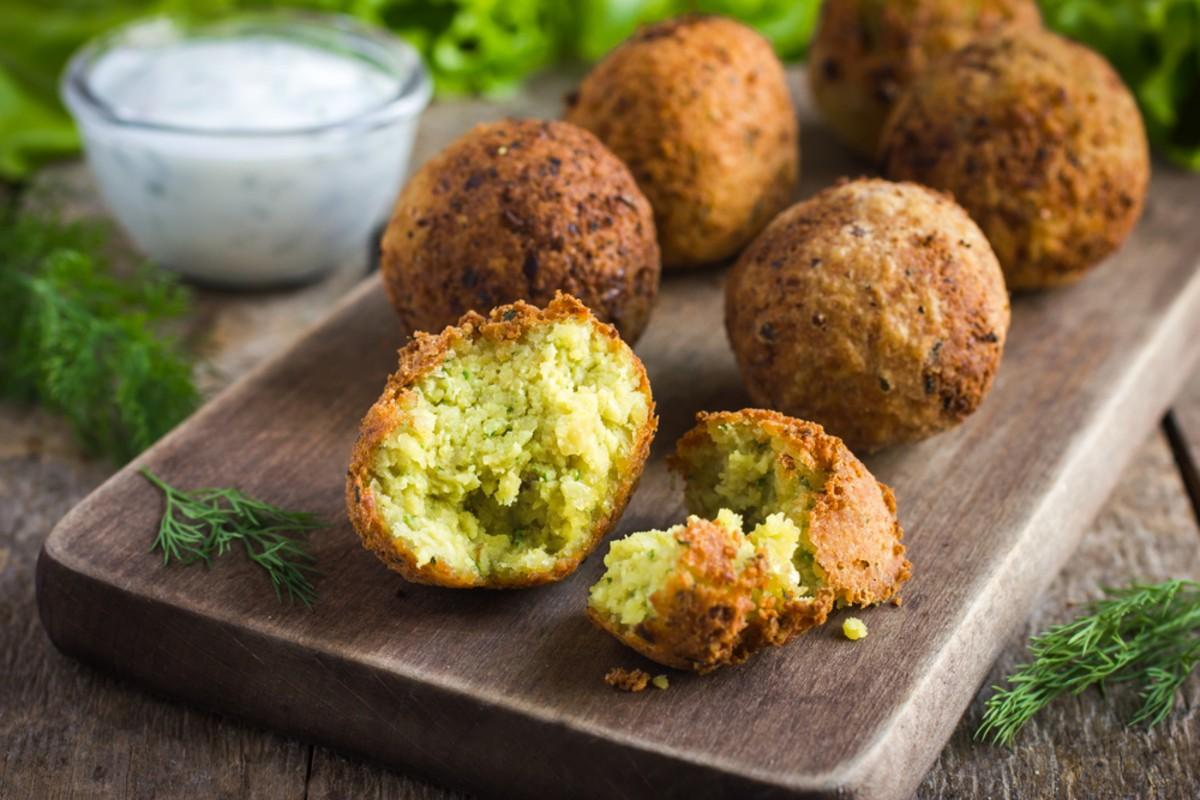 alimenti ricchi di potassio, polpette vegetariane