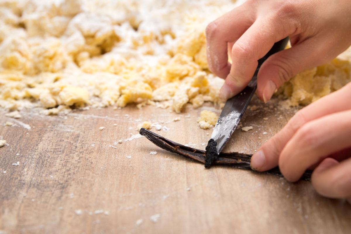 baccello di vaniglia: come tagliarlo