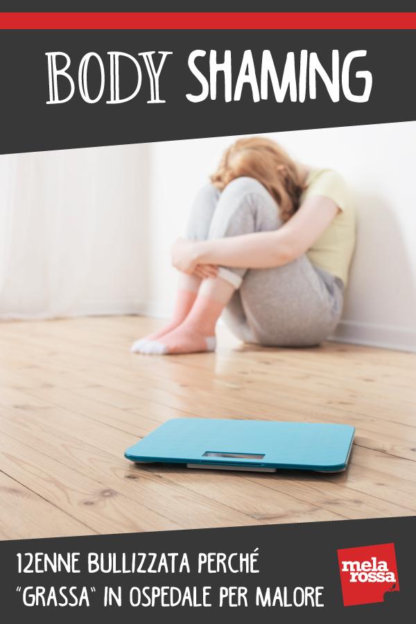 Body shaming: 12enne bullizzata perché sovrappeso