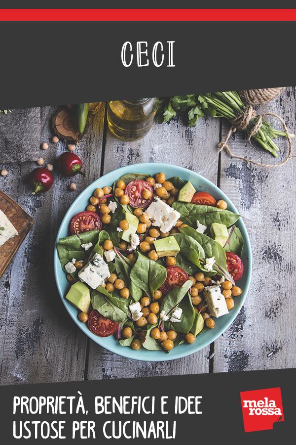 Ceci: cosa sono, benefici, valori nutrizionali e ricette