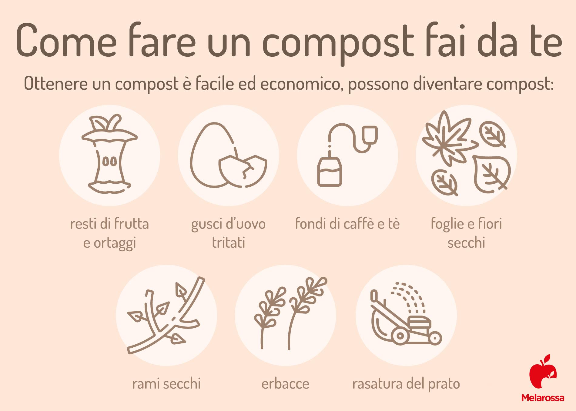 Citronella: compost fai da te