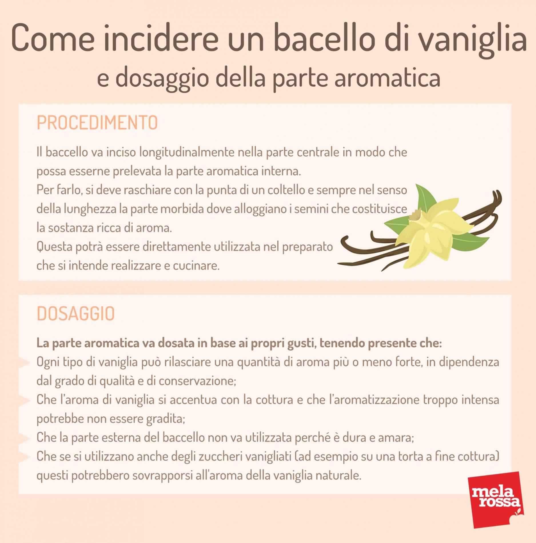 Come incidere un baccello di vaniglia