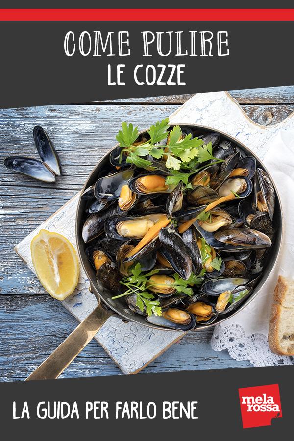 come pulire le cozze: guida step by step