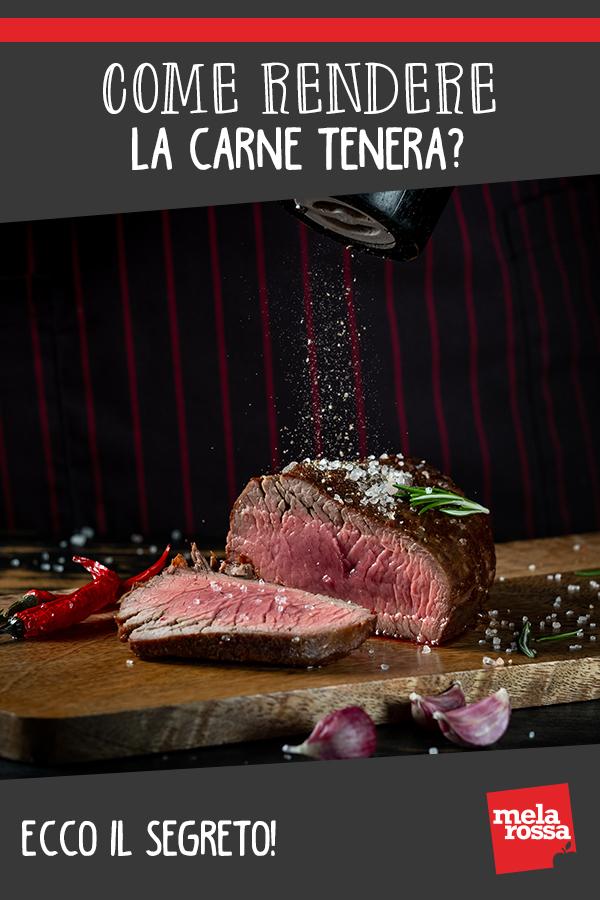 Come rendere tenera la carne