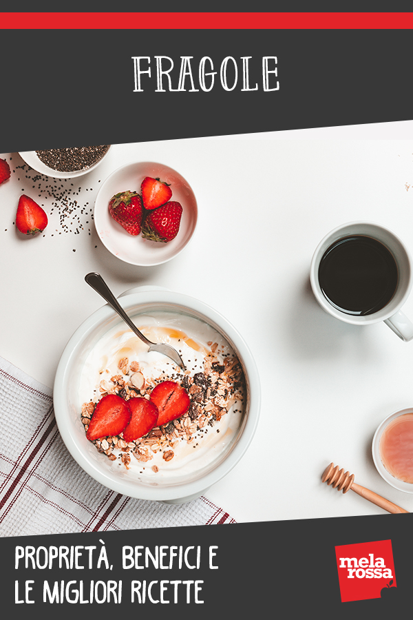 Fragole, proprietà, benefici e usi in cucina