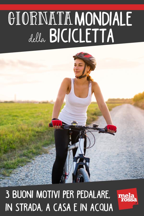 giornata mondiale bicicletta benefici pedalare