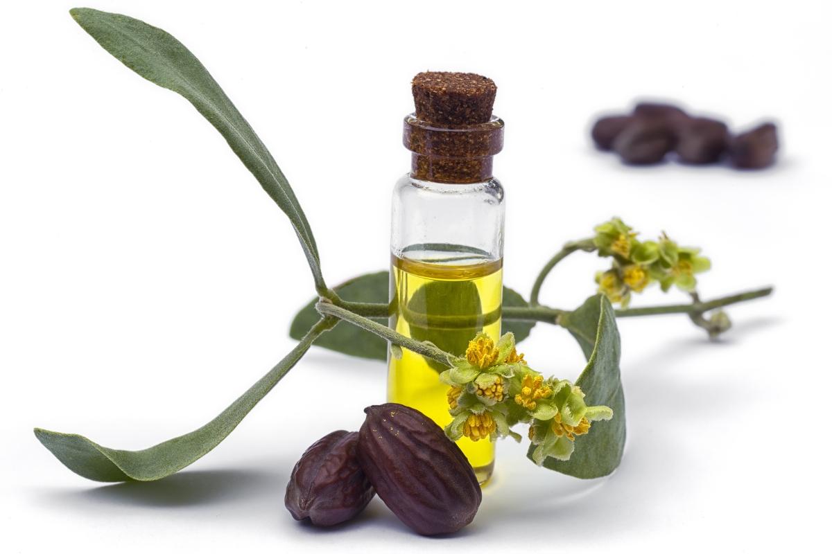 oli vegetali: olio di jojoba