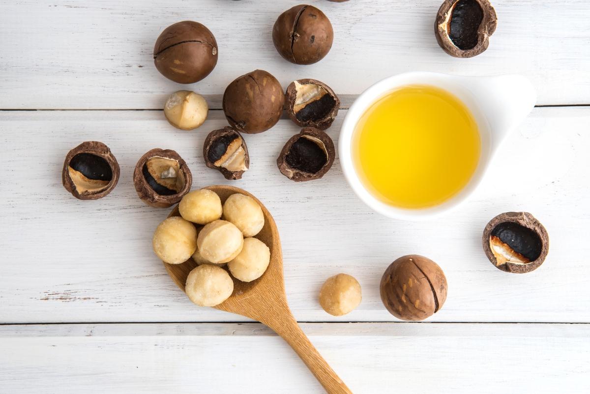 oli vegetali: olio di macadamia