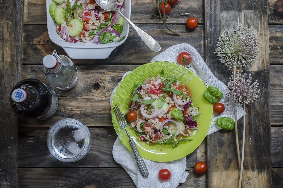 panzanella di verdure