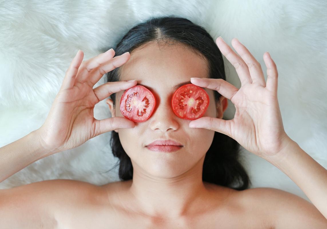pomodori: maschere di bellezza