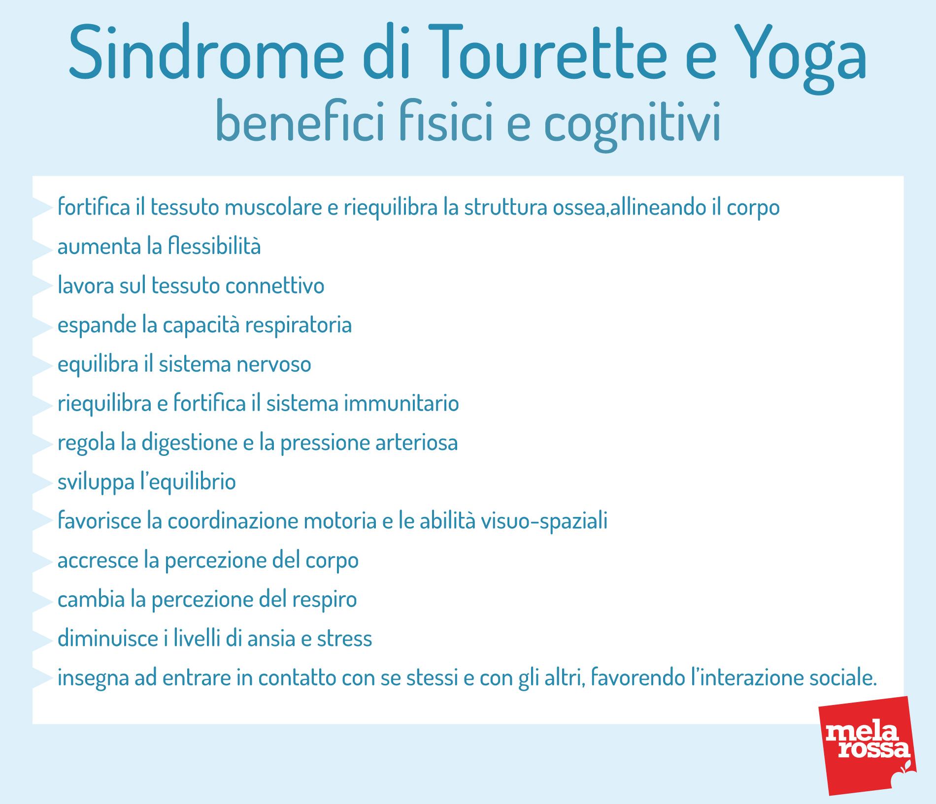 Sindrome di Tourette: benefici dello yoga