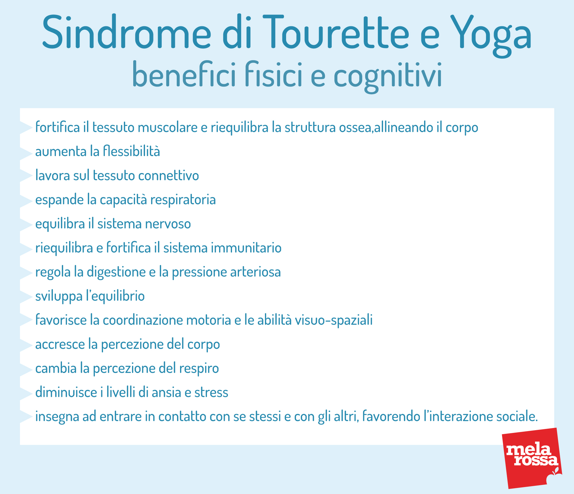 Sindrome di Tourette: benefici dello yoga