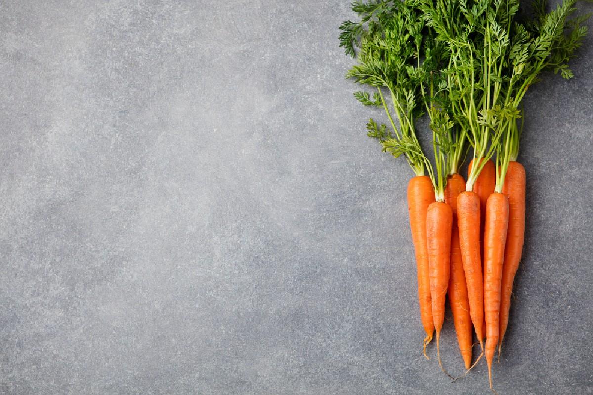 Tagliare le calorie carote