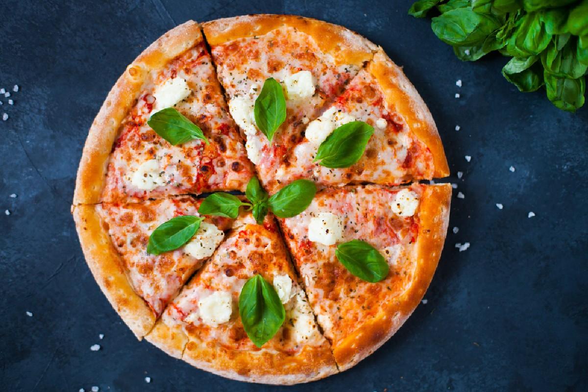 Tagliare le calorie pizza