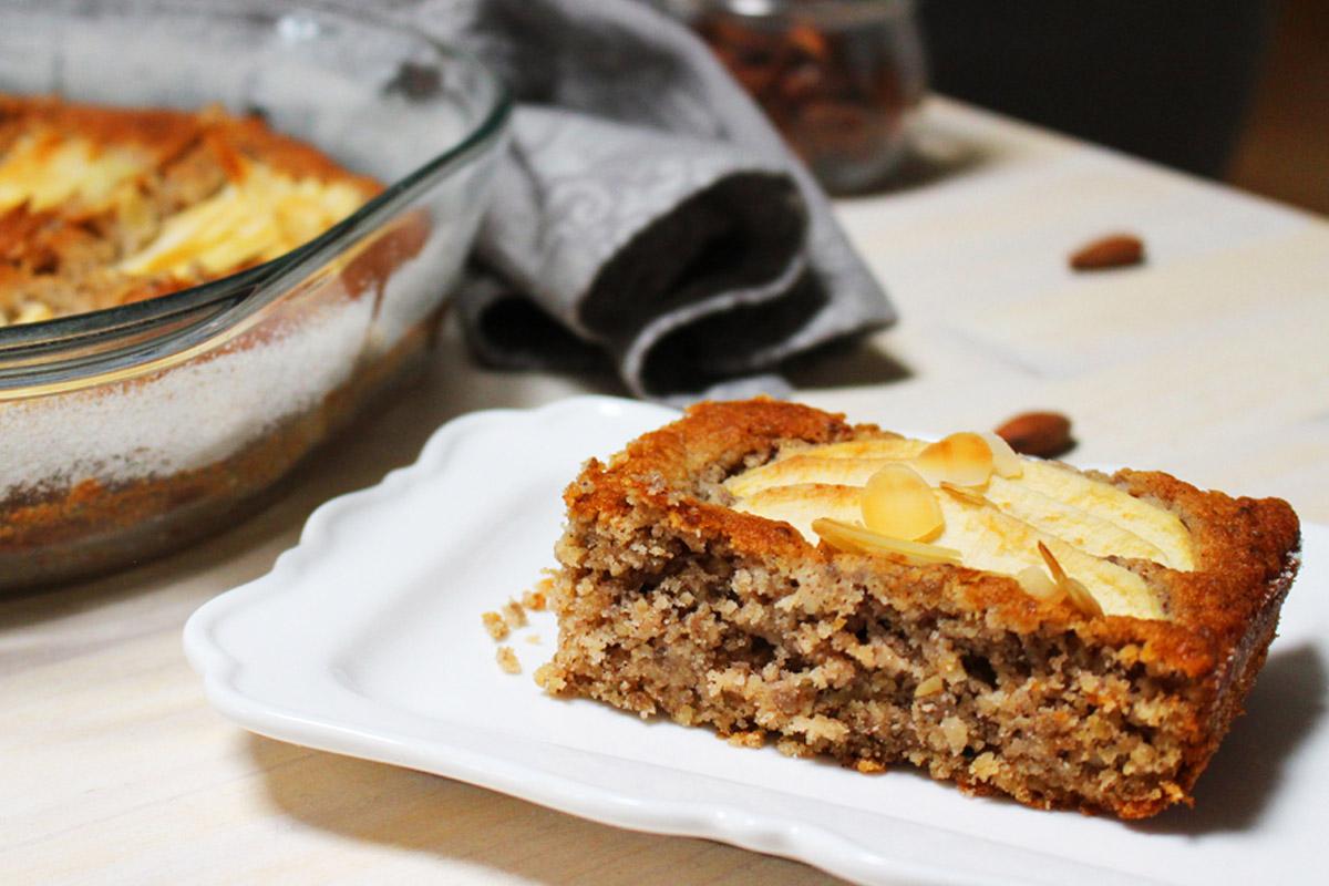 torta di mele senza glutine, con grano saraceno