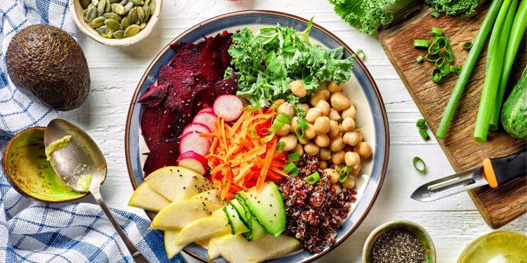 Vegetariani: più magri e con un IMC più basso rispetto a chi mangia carne