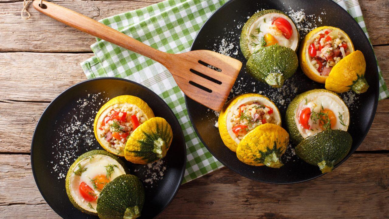 Ricetta Zucchine Ripiene Melarossa.Verdure Ripiene 5 Ricette Veloci Da Provare Melarossa
