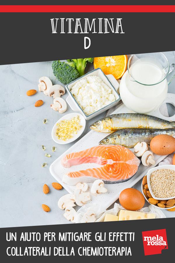 Vitamina D mitiga effetti collaterali chemioterapia