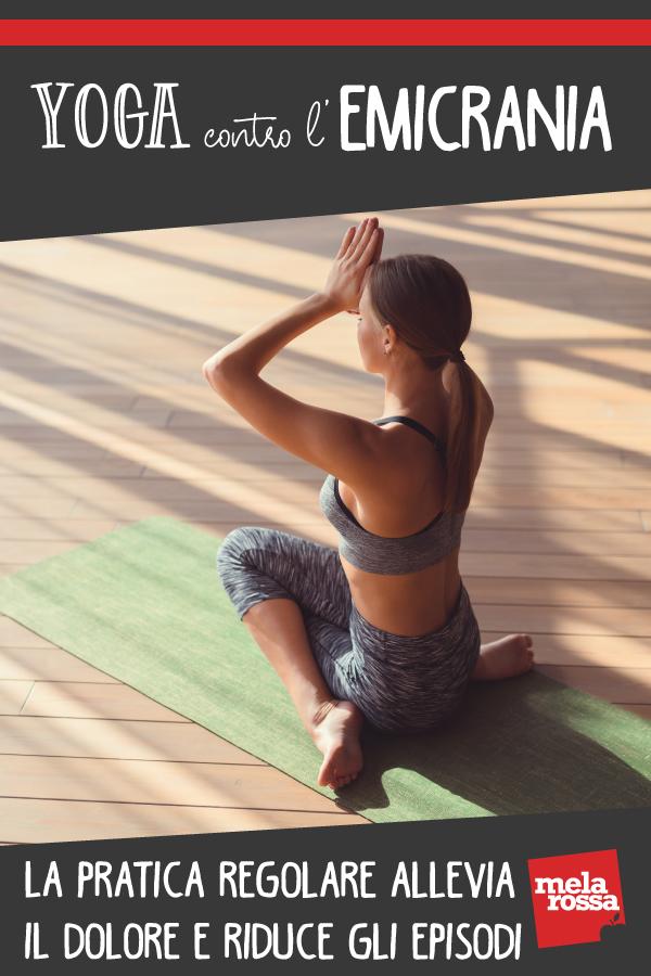 yoga contro emicrania