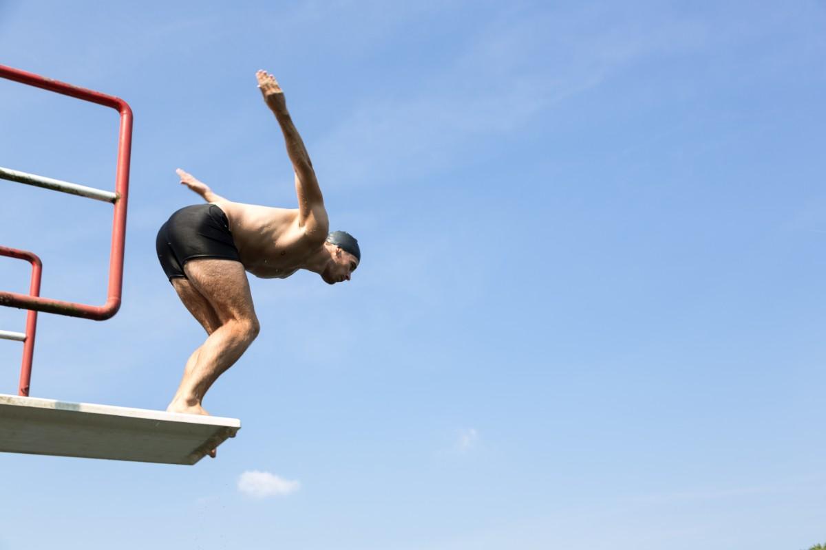 errori da evitare nel nuoto: nuoto allenarsi con costanza