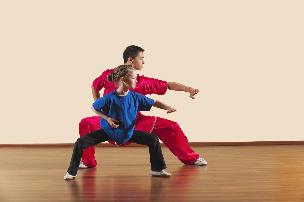 come si svolge una lezione di kung fu