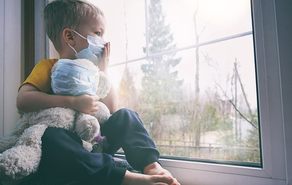 Dermatite seborroica e mascherina