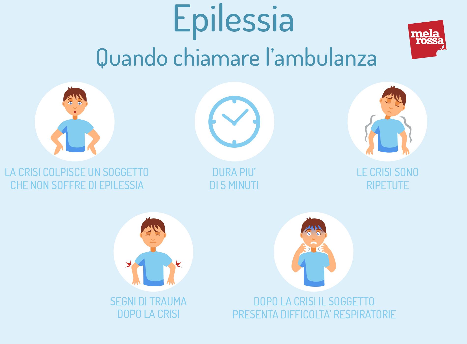 epilessia: quando chiamare ambulanza